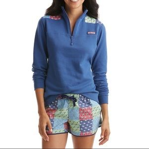 Vineyard Vines Womens XS Sweater Holiday Patchwork